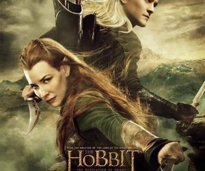 Legolas, tauriel, and the hobbit image