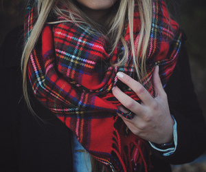 scarf, fashion, and style image