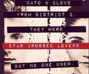 Clove, the hunger games, and cato image