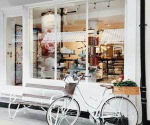 bike, white, and fresh image