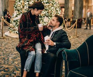 christmas, coffee, and love image