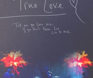 coldplay, true love, and love image