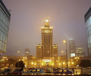 europe, warsaw, and fog image