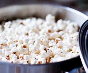 food, popcorn, and photography image