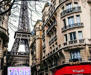 paris, france, and street image