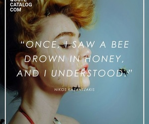 bee, drown, and guotes image