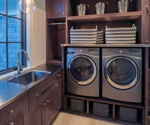 home, house, and laundry room image