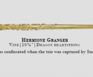 hermione granger, harry potter, and wand image
