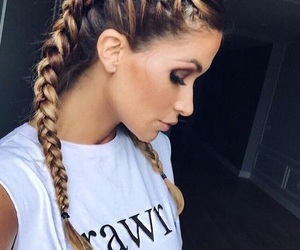 braid, hairstyle, and cool image