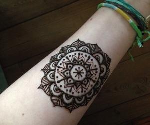 beautiful, henna, and mandala image