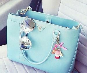 bag, Prada, and blue image