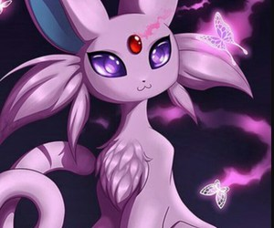 kawaii, purple, and pokemon image