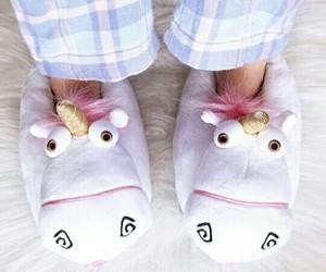 unicorn and slippers image