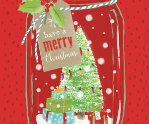 holiday, illustration, and merry image