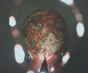 amazing, earth, and globe image