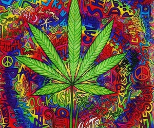 weed, marijuana, and smoke image