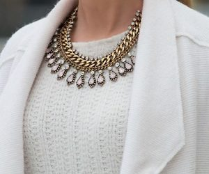 necklace and white image