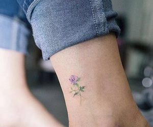 tattoo and flower image