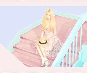 asian, korean, and pastels image