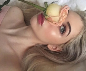 aesthetic, beauty, and rose image