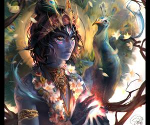 artwork, beautiful, and belief image