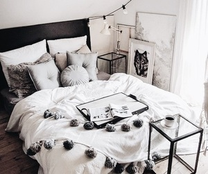 bed, cool, and bedroom image