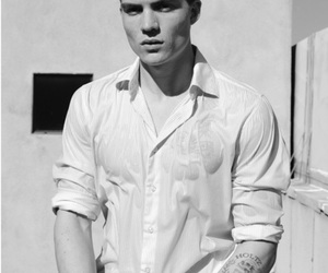 black and white and zane holtz image