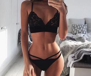 abs, bra, and gorgeus image