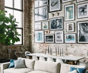 interior, design, and loft image
