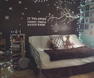 lights, room, and tumblr image