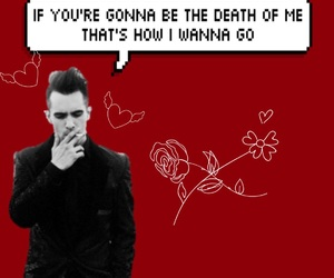 aesthetic, brendon urie, and panic! at the disco image