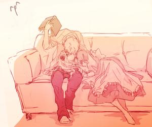 couple, anime, and hetalia image