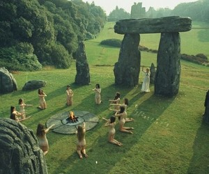 ritual, witch, and pagan image