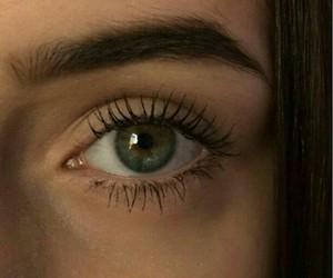 eyes, ojos, and green image