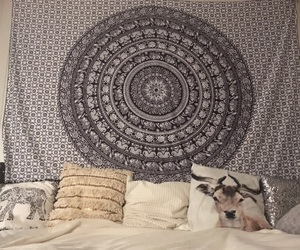 pillows and wallhanging image