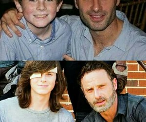 carl, cast, and rick image