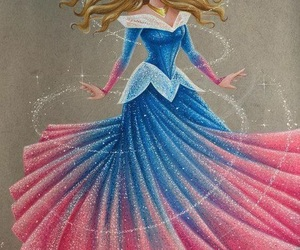 aurora, disney, and art image