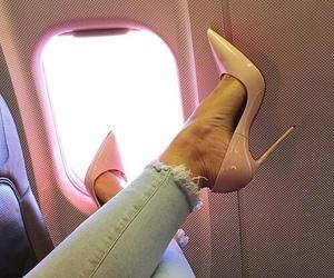girly, baddie, and high heels image