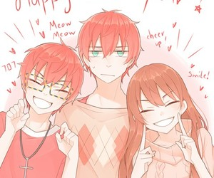 mystic messenger, Mc, and unknown image