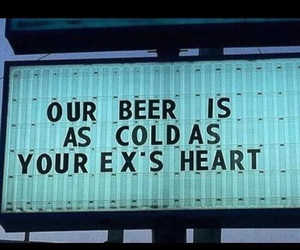 beer, ex, and heart image