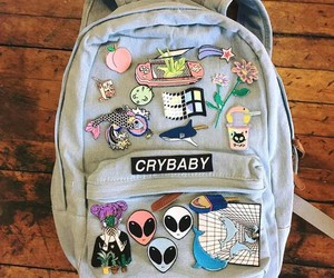 alien, bag, and crybaby image