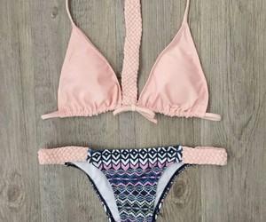 bikini, clothe, and fashion image