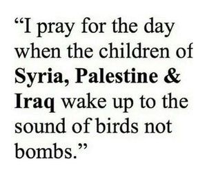 iraq, palestine, and pray image