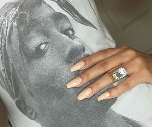 nails, tupac, and 2pac image