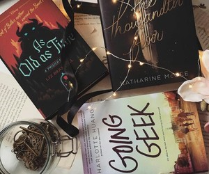 libros, books, and cute image