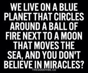 miracle, quotes, and moon image