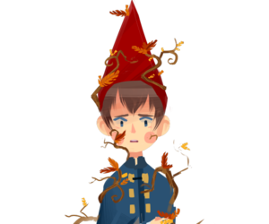 cartoon's, wirt, and over the garden wall image