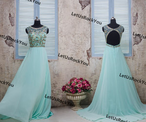 etsy, evening dress, and party dress image