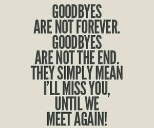 goodbyes and quotes image