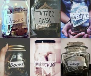 adventure, books, and money image